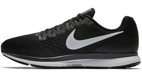 Tênis Nike Air Zoom Pegasus 34 Corrida Treino Academia Preto