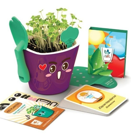 Kit Educativo Didactico Para Niños Kid Planter Smart Garden
