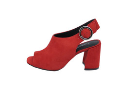 Sandalia Ankle Boot Vermelha