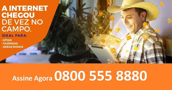 Internet Via Satelite Rural E Casa De Praia, Wi-fi Grátis !!
