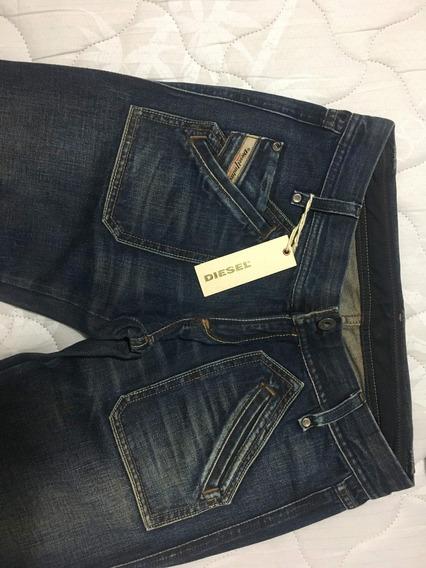 Calça Jeans Feminina Diesel Escura