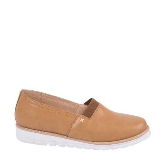 Zapato Confort Shosh 7319 Cof 825317 Sintetico Piel