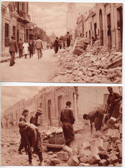 Postales Terremoto De San Juan