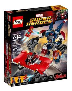 Lego 76077 Iron Man El Ataque De Acero De Detroit (1051)