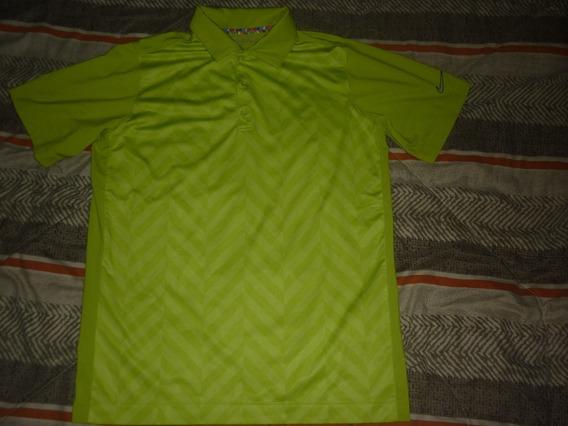 E Chomba Golf Nike Dri Fit Verde Talle S Art 66512