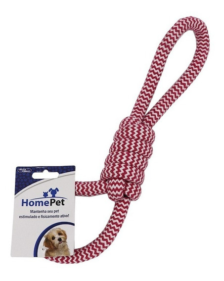 Brinquedo Para Cães, Mordedor Puchador De Corda Home Pet