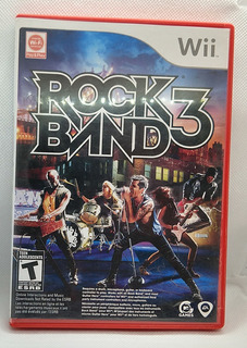 Rock Band 3 Nintendo Wii Raro
