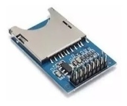Módulo Shield Sd Card Leitor De Cartão Arduino Rp3 Pic