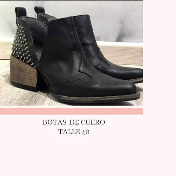 Botas De Cuero Nuevas!