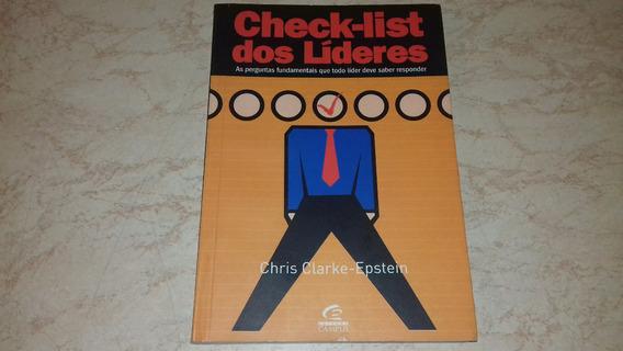 Livro Check-list Dos Líderes Chris Clarke-epstein