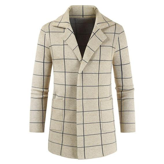 Abrigo Chaqueta Abrigo Tipo Escocesa Moda 2019