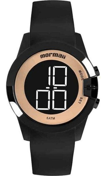 Relógio Mormaii Feminino Preto/rosé Digital Mo13001a/8j