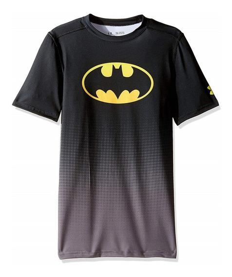 Playera Infantil Batman Alter Ego Under Armour Compresion