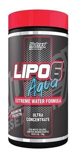 Lipo 6 Aqua Em Pó 120g Nutrex Termo Diurético Fruit Punch