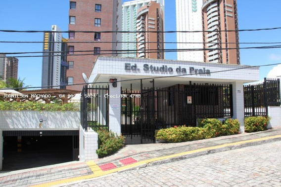 Apartamento Para Venda Em Natal, Ponta Negra - Studio Da Praia, 1 Dormitório, 1 Suíte, 2 Banheiros, 1 Vaga - Ap1109-studio