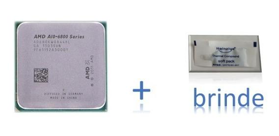 Processador Amd A10-6800k 4.4ghz Turbo Garantia 1 Ano