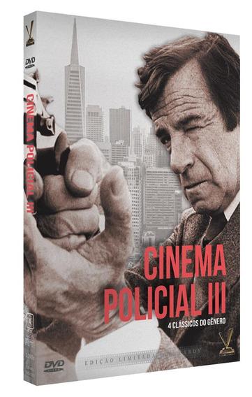Dvd - Cinema Policial - Volume 3 - 02 Discos