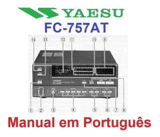 Manual Em Português Do Acoplador Yaesu Fc-757at