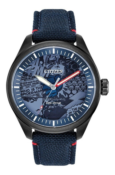 Reloj Citizen Eco Drive Marvel Heroes Original Aw203704w