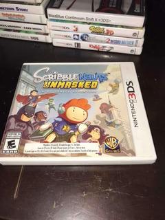 Scribblenauts Unmasked A Dc Comic Adventure!!! Nintendo 3ds