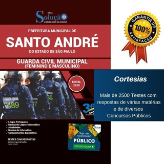 Apostila Prefeitura Santo André Sp - Guarda Municipal
