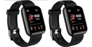 Relógio Smartwatch A6 Sport Inteligente Kit 2un