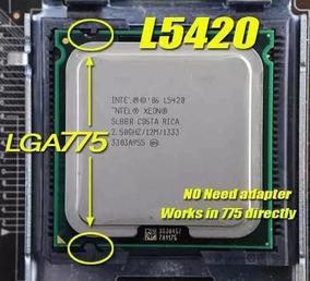 Xeon L5420 Soquete 775 Estoque No Brasil Tenho Cpucode