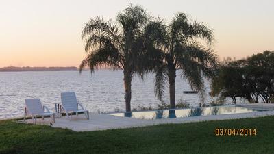 Casa Cabaña - Playa Y Lago Propio- Pileta Concordia E. Rios