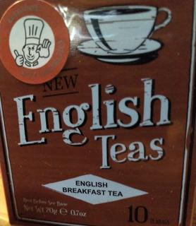 Te English Breakfast - New English - 10 Saquitos