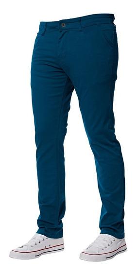 Pantalónes De Gabardina Corte Intermedio Penguin
