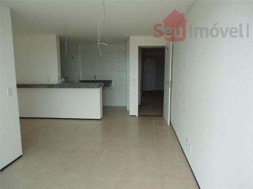 Apartamento  Residencial À Venda, Serrinha, Fortaleza. - Ap0754