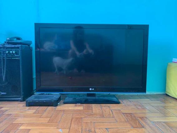 Tv 42 Lcd LG Full Hd Com Entradas Hdmi E Usb