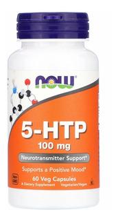 5 Htp 100 Mg Now Foods 60 Cápsulas Envio Imediato