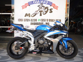 Honda Cbr 600 Rr 2007 Azul/prata Novíssima!!!