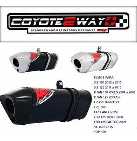 Escape Ponteira Coyote 2 Way C/cabo Regulagem