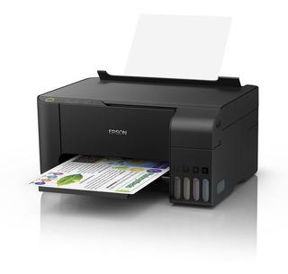 Impresora Multifuncion Epson L3110 Sist Continuo Ecotank Cta