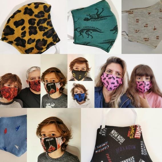 Máscara Máxima Proteção Respiratória Virus Estampas Lavavel