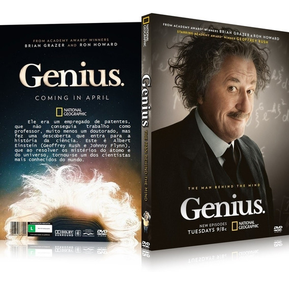 Box Genius A Vida De Albert Einstein 7 Dvd