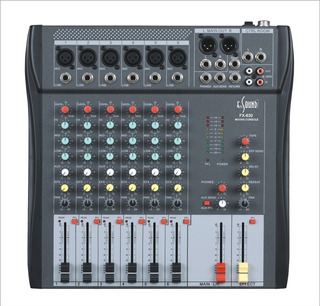 Consola De Sonido Fx-630