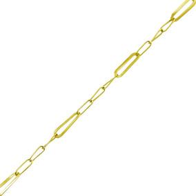 Corrente Ouro 18k 45cm 1,7gelos 3 Em 1