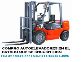 Autoelevadores Toyota Clarck Yale