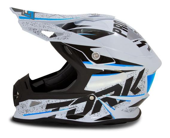 Capacete Motocross Fast Skull Pro Tork Masculino Lançamento