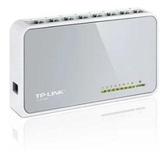 Imagen 1 de 3 de Switch Internet 8 Puertos 10/100mb Tp-link Ls1008 Red Rj45