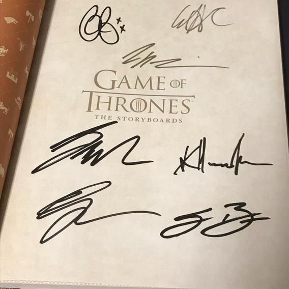 Game Of Thrones Autografado Daenerys Tyrion Jon Cersei Ned
