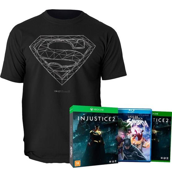 Injustice 2 Edição Limitada + Camiseta - Xbox One