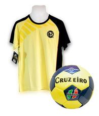 Playera Club América Fútbol Y Balón Cazarín Cruzeiro 783e7a268b63d