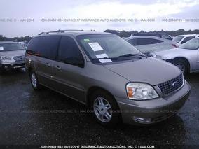 Ford Freestar Sel 2004 Se Vende Solamente En Partes