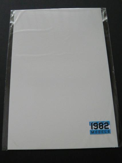 Plasticard Plástico Para Modelismo 0,3 -0,5 Y 1 Mm.