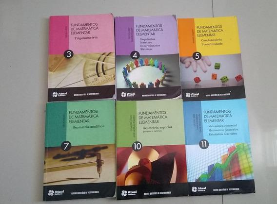 Coleção Fundamentos Da Matemática Elementar 3 4 5 7 10 11