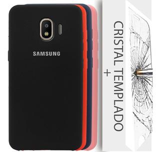 Silicone Cover Samsung J2 Grand Prime Pro J250 Funda + Mica